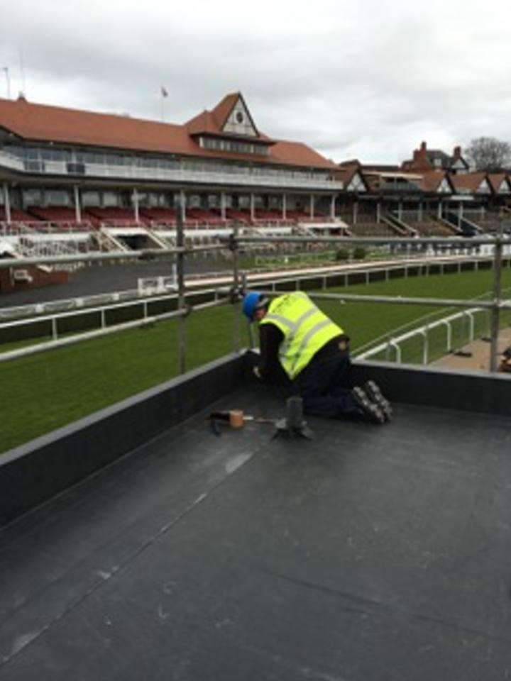 Flat Roofing Chester Racecouse