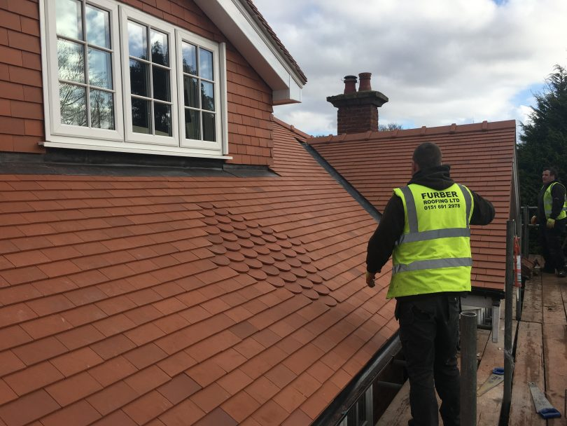 Reroofing project in Prenton, Wirral