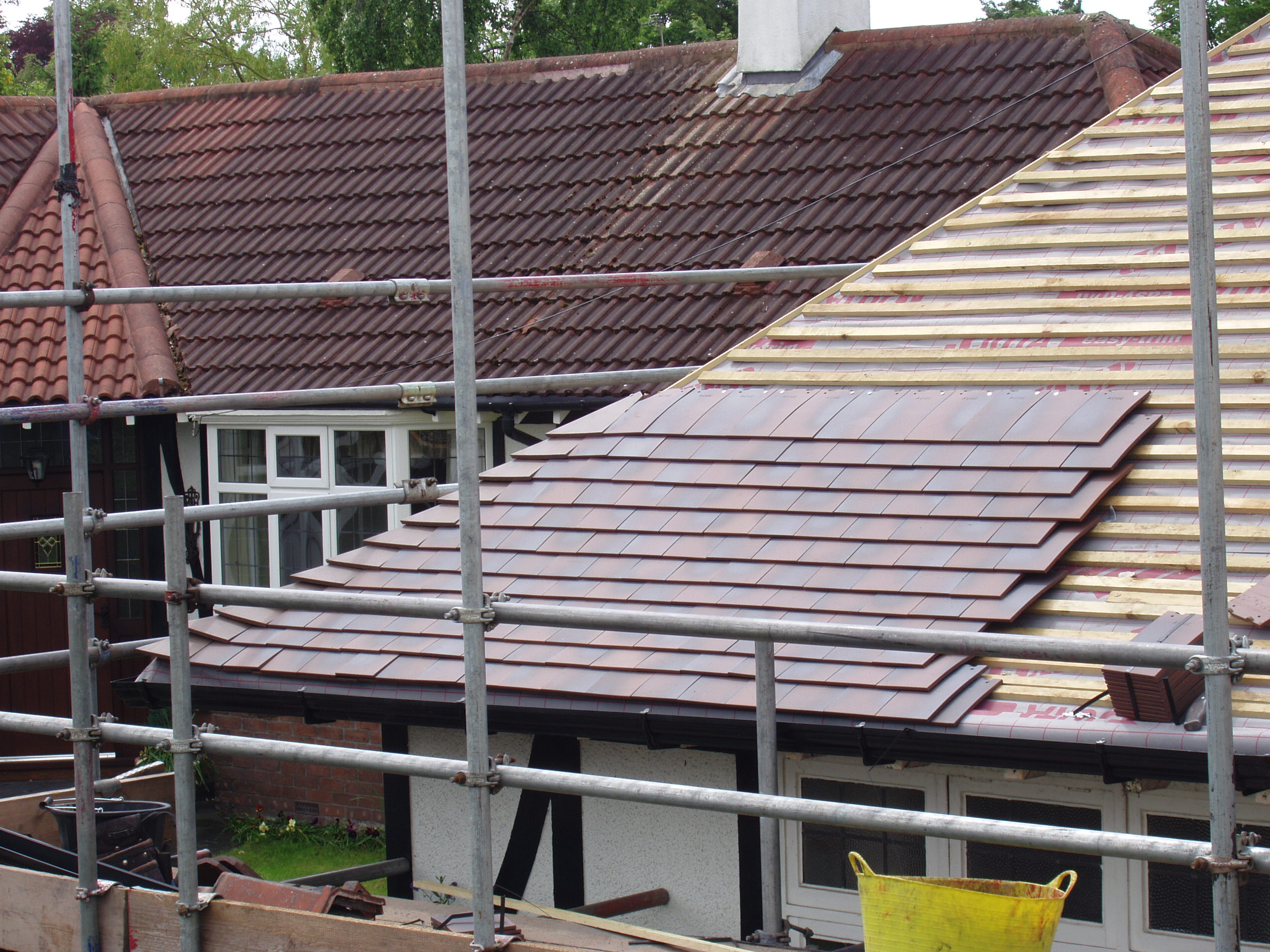 Wirral Roofing: Reroofing In Heswall