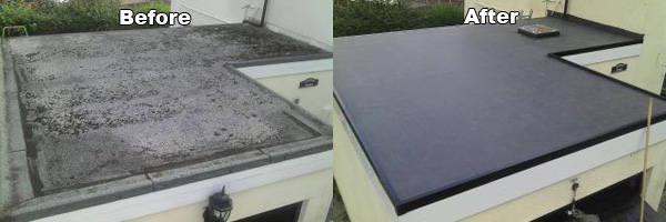 Flat Roof Wirral Felt Vs Rubber Epdm Furber Roofing